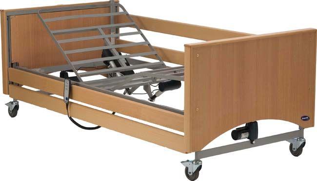 Letto elettrico ortopedico reg in altezza sponde alzamalto sedia a rotelle ebay - Letto elettrico ...