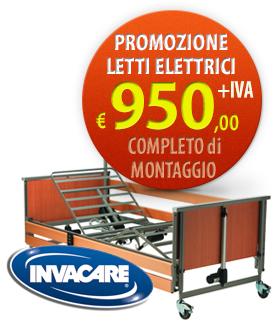 promozione letto ortopedico elettrico