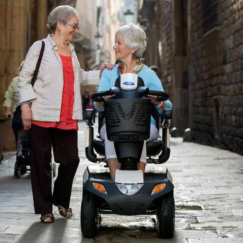 scooter elettrico per anziani orion metro 1