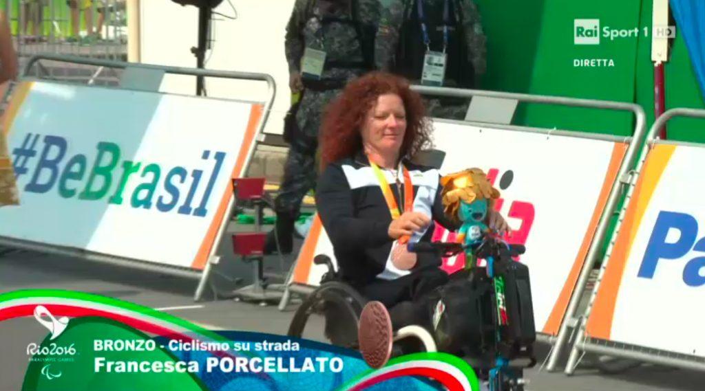 Triride Italia di Giovanni Conte e Francesca Porcellato Bronzo alle Paralimpiadi di Rio 2016