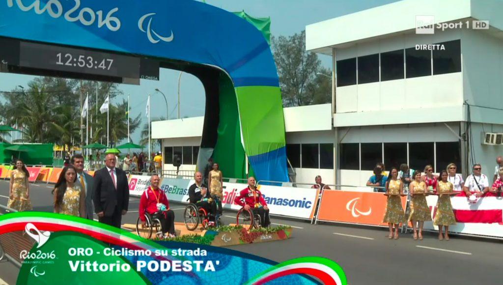 Triride Italia di Giovanni Conte e Vittorio Podestà Oro alle Paralimpiadi di Rio 2016