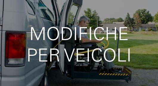 Modifiche per veicoli