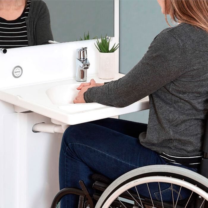 slim lavandino per disabili