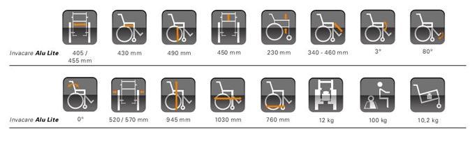 carrozzella per disabili