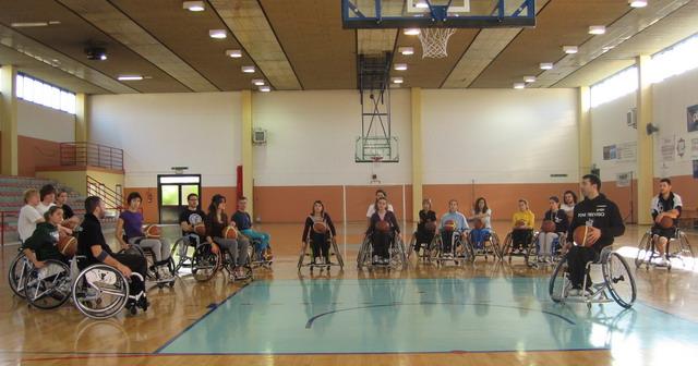 carrozzine per atleti che praticano sport