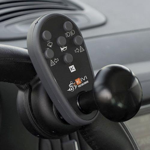 centralina al volante per disabili