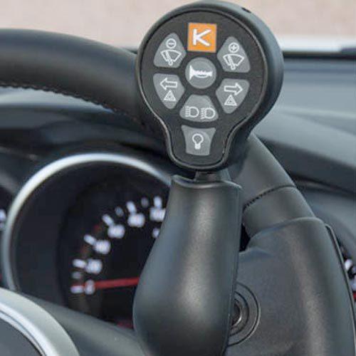 centralina di guida auto per disabili