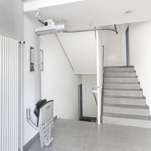 montascale a soffitto