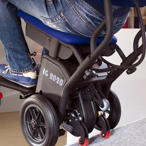 Montascale per disabili a ruote