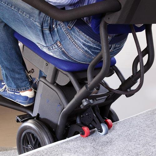 Montascale a ruote per disabili