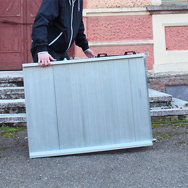 rampa per disabili mobile