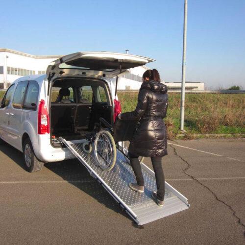 rampa disabili per veicoli