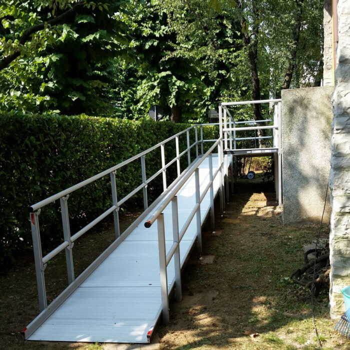 rampe per disabili fisse