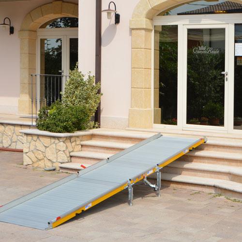 rampe di accesso per disabili