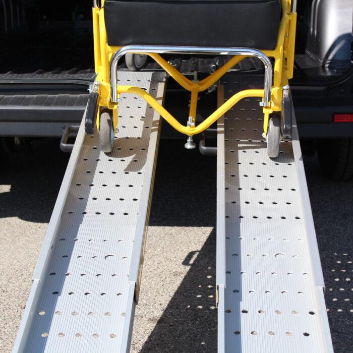 rampe telescopiche per disabili