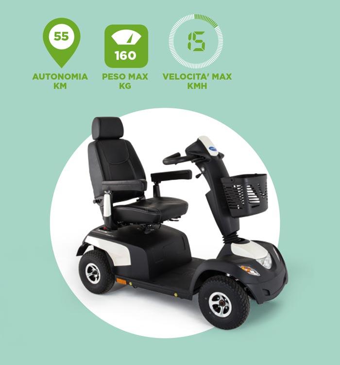 scooter elettrico COMET PRO caratteristiche tecniche