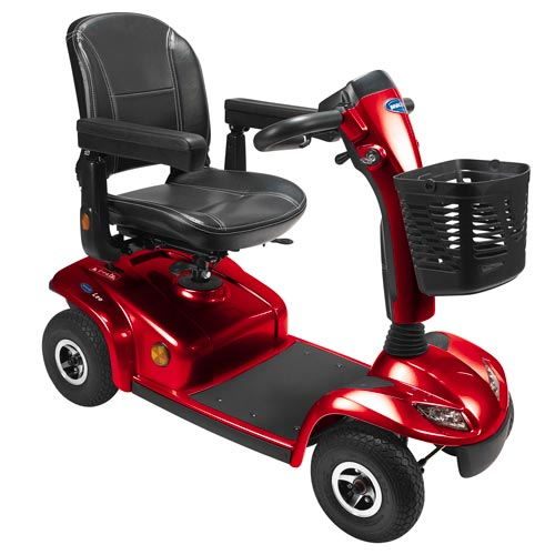 scooter elettrico leo rosso