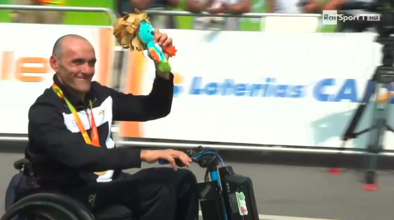 Triride Italia di Giovanni Conte e Luca Mazzone Oro alle Paralimpiadi di Rio 2016
